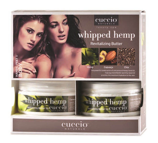 Cuccio Butter Blend Display 6x226g Whipped Hemp